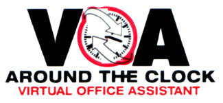 Around the Clock Virtual Office Admin Logo